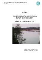 Selostus_Liite_8_Arkeologinen_selvitys