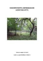 Selostus_Liite_5_Hakosen_RAK_Luontoselvitys
