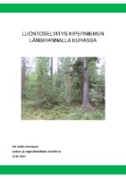 Selostus_Liite_4_Luontoselvitys Kiperniemen länsirannalla Eurassa