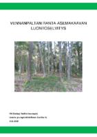 Selostus_Liite_7_Vennanpaltan ranta-asemakaavan luontoselvitys