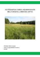 Selostus_Liite_5_Keräsaaren ranta-asemakaavan muutoksen luontoselvitys