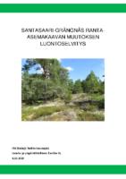 Selostus_Liite_4_Santasaari-Grängnäs ranta-asemakaavan muutoksen luontoselvitys