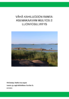 Selostus_Liite_4_Vähä-Kahiluodon ranta-asemakaavan muutos 2 – luontoselvitys